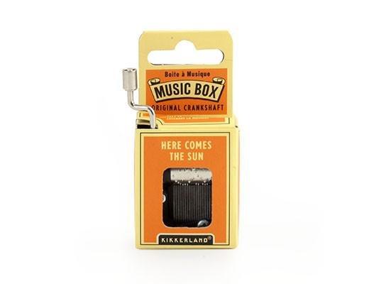 Here Comes The Sun Crank Music Box