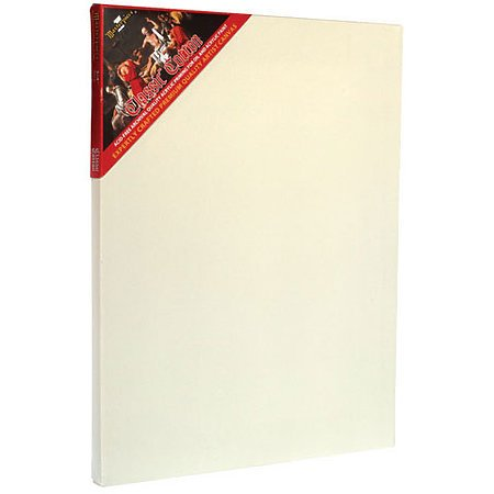 Classic Cotton Stretched Canvas, 3/4in Profile