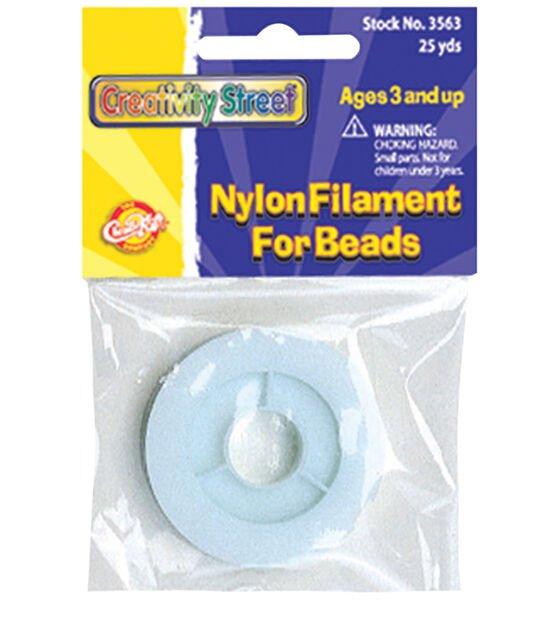Beading Cord, Nylon Filament Spool - 25 yds.