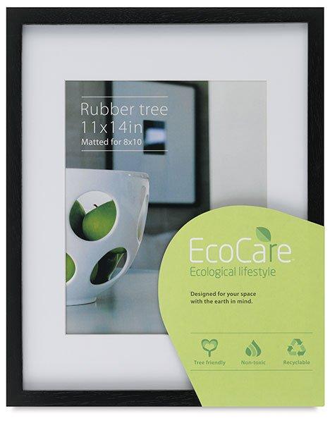 EcoCare Rubberwood Frame Black