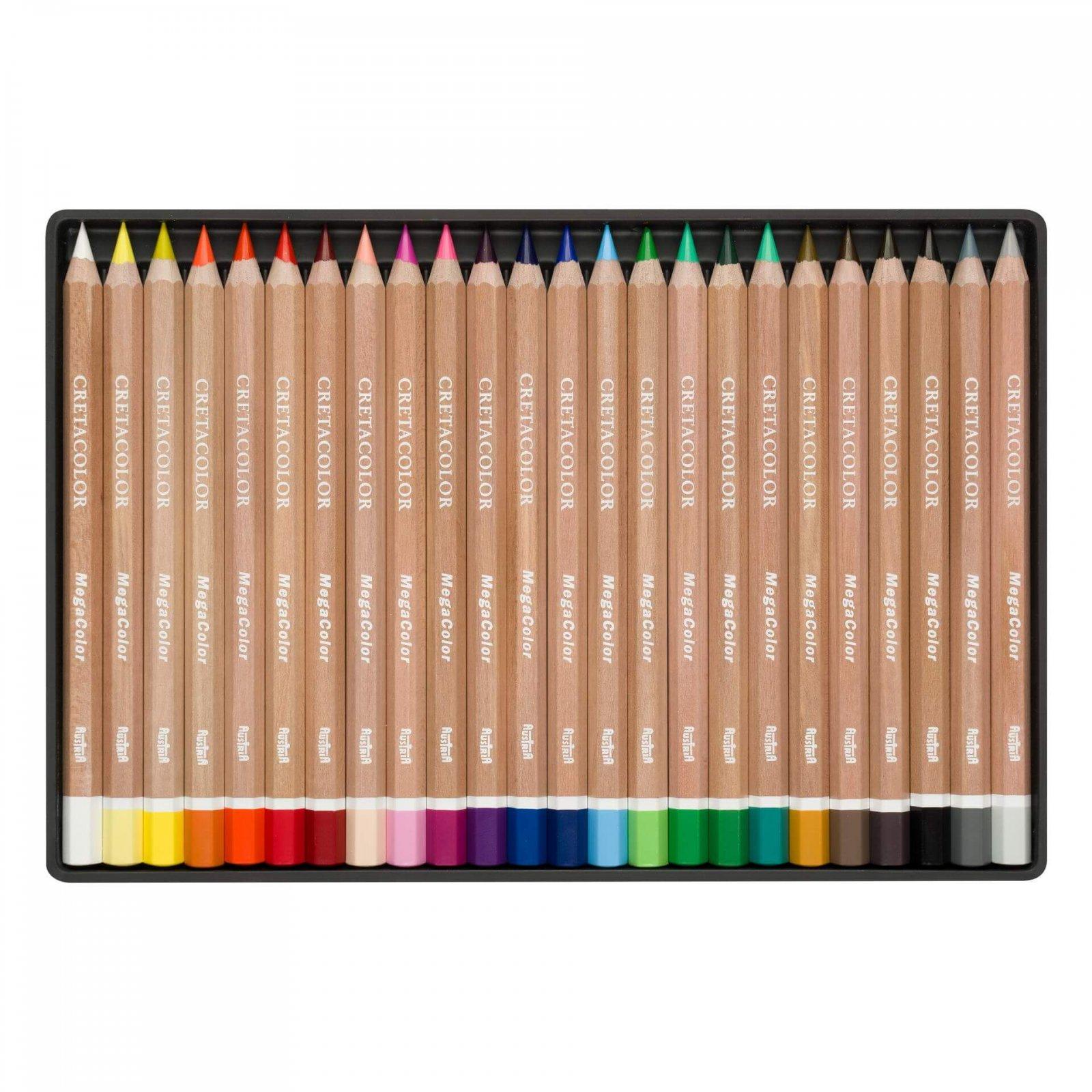 Cretacolor MegaColor Pencil Tin Sets