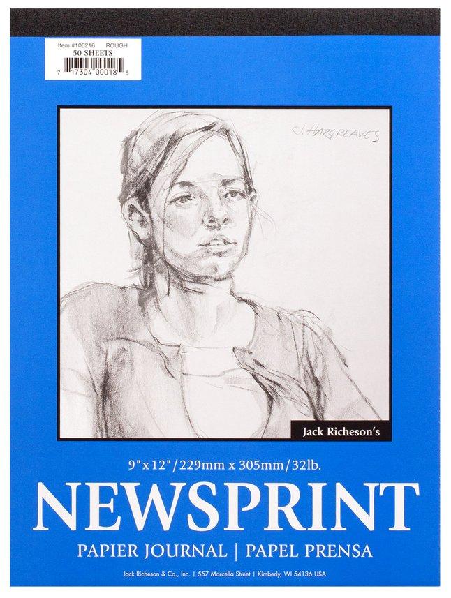 Rough Surface Newsprint