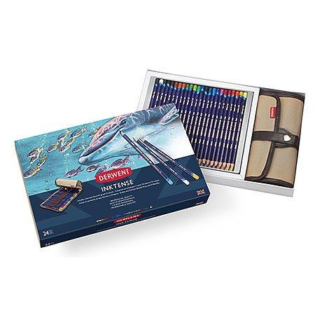 Inktense 24 Pencil Wrap Set