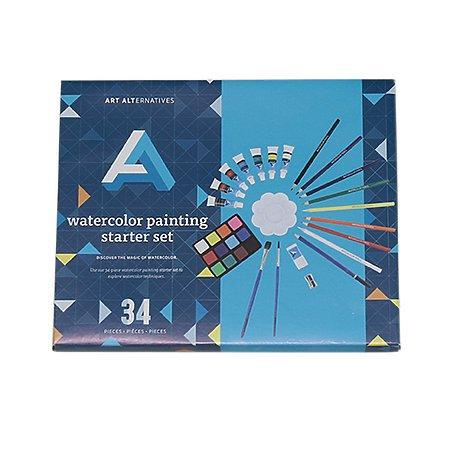 Art Alternatives Watercolor Painting Starter Set