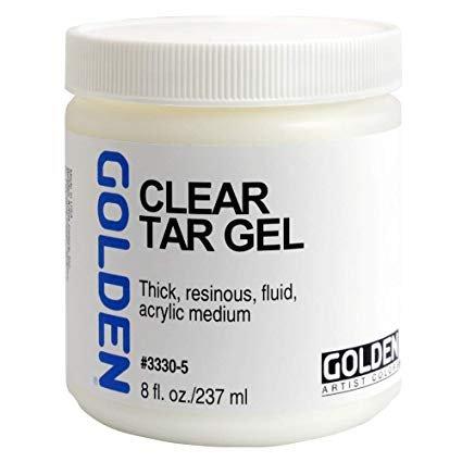 Golden Clear Tar Gel