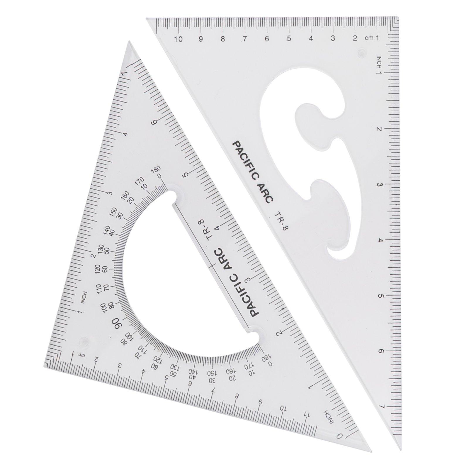 Scholastic Acrylic Triangles - 2-Piece Sets