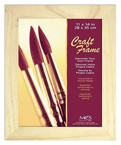 Unfinished Pine Craft Frame