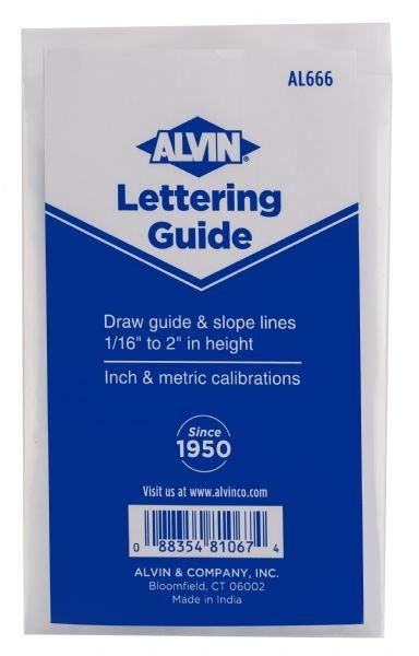 Letter Guide & Rule