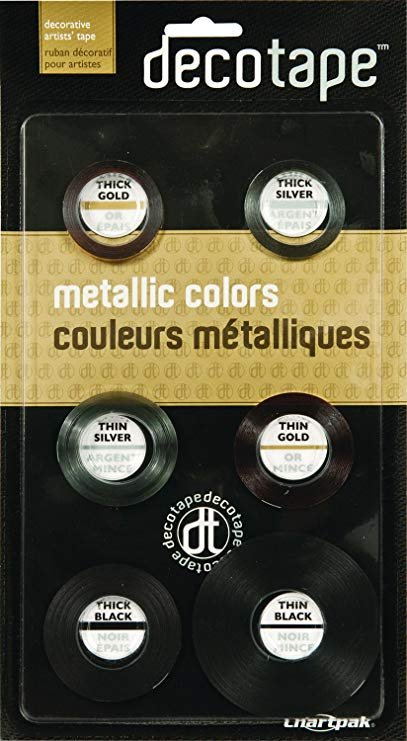 Decotape Metallic Colors