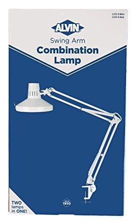 Swing Arm Combination Lamp