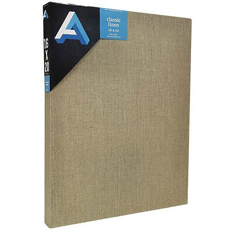 CLEAR GESSOED LINEN CANVAS