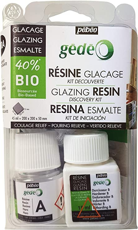 Gedeo Bio-Based Resin Discovery Kits Glazing Resin 45ml Discovery Kit