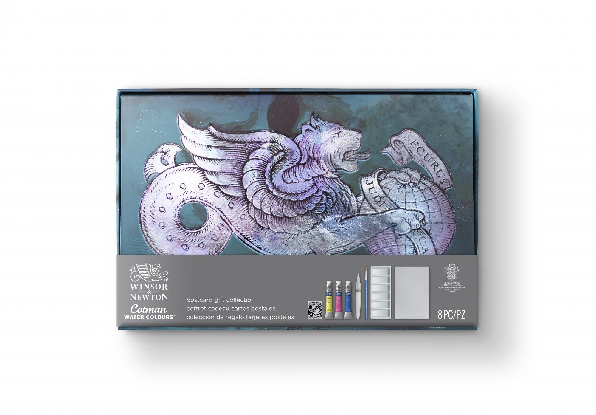 Winsor & Newton Cotman Watercolor Postcard Gift Collection
