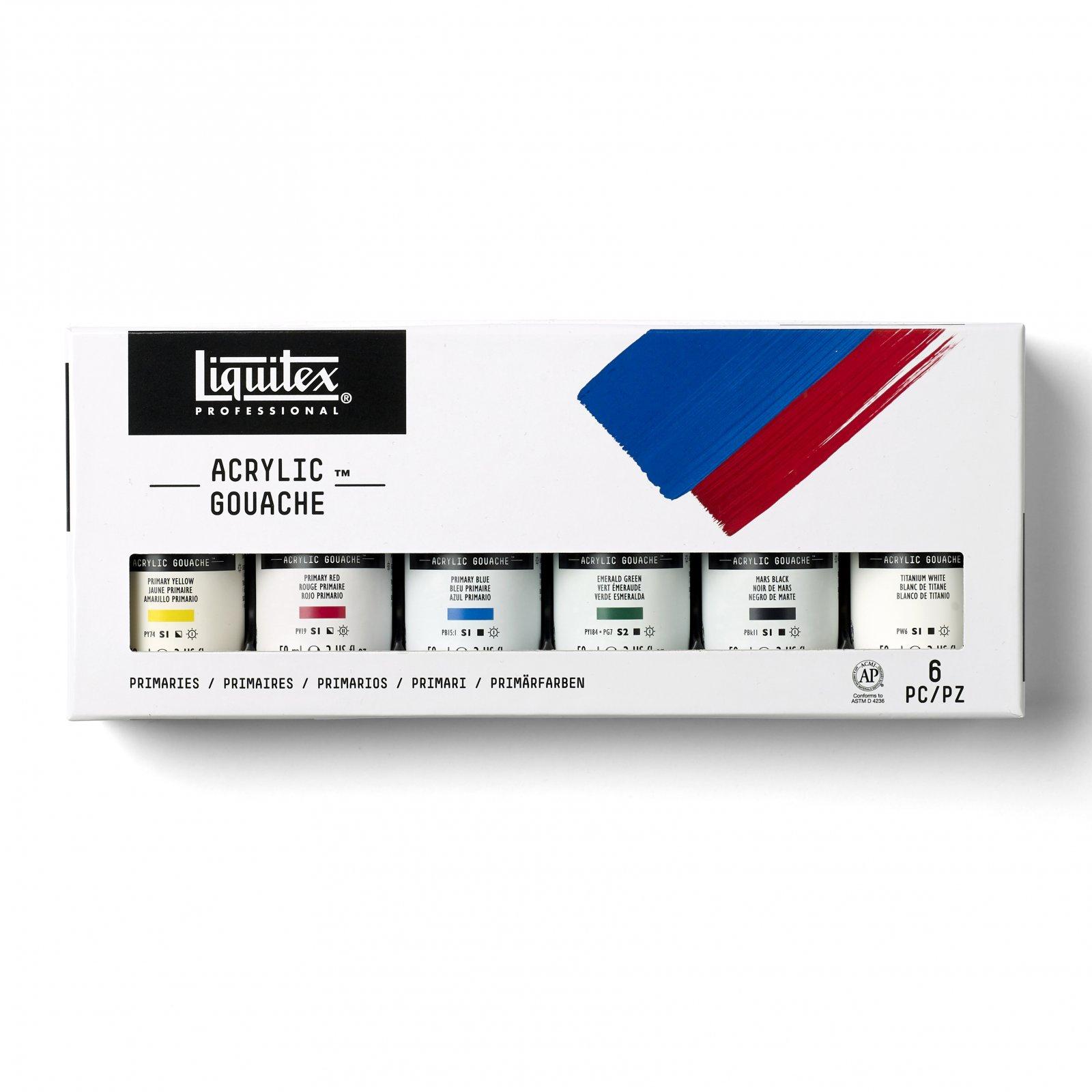 Liquitex Acrylic Gouache Sets