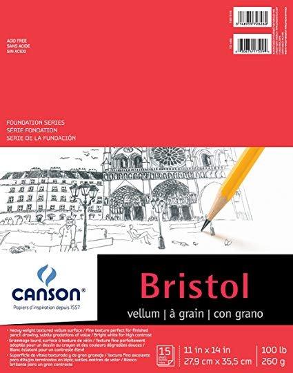 Foundation Series Bristol Pads Vellum