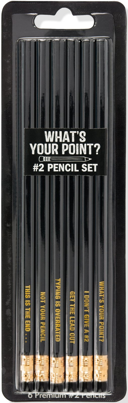 What's your point? #2 Pencil Set