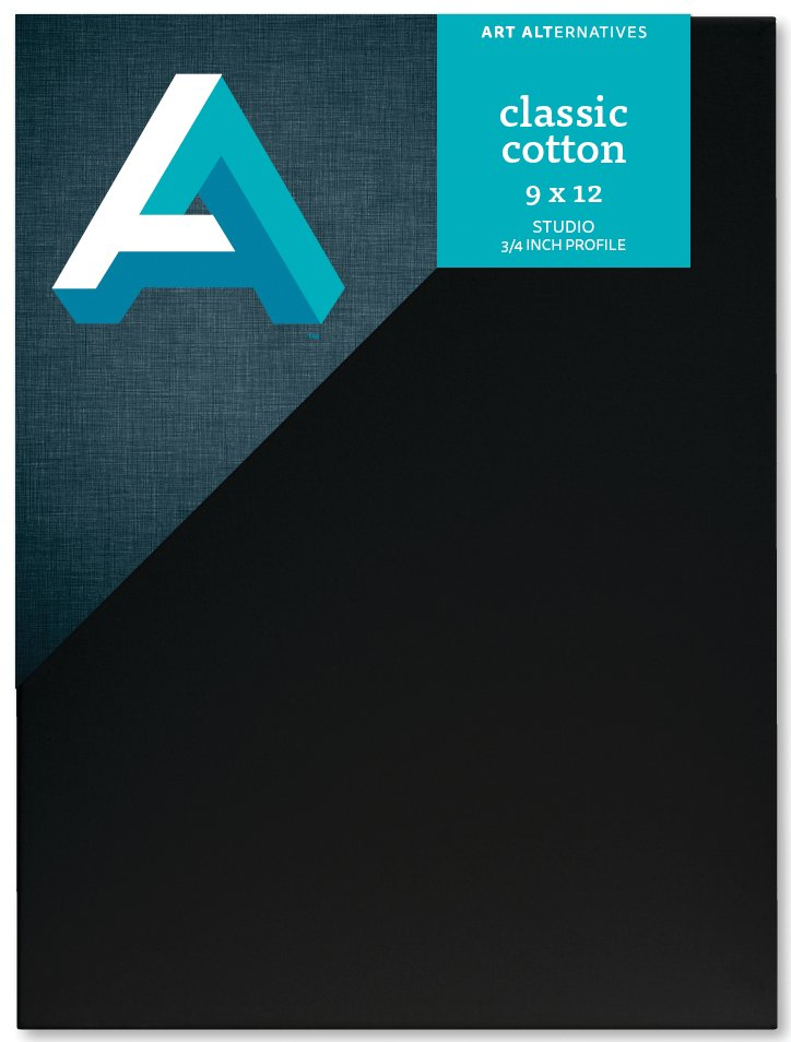 Classic Cotton Stretch Canvas - Black