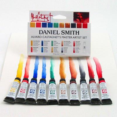 Daniel Smith 10-Color 5ml Alvaro Castagnet Watercolor Set