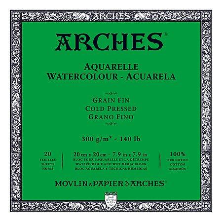 ARCHES WATERCOLOUR BLOCKS-COLD PRESSED