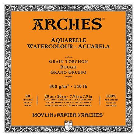 ARCHES WATERCOLOUR BLOCKS-ROUGH
