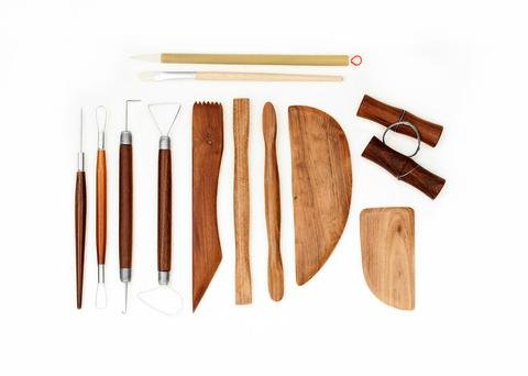 12 Pc Deluxe Pottery Tool Set