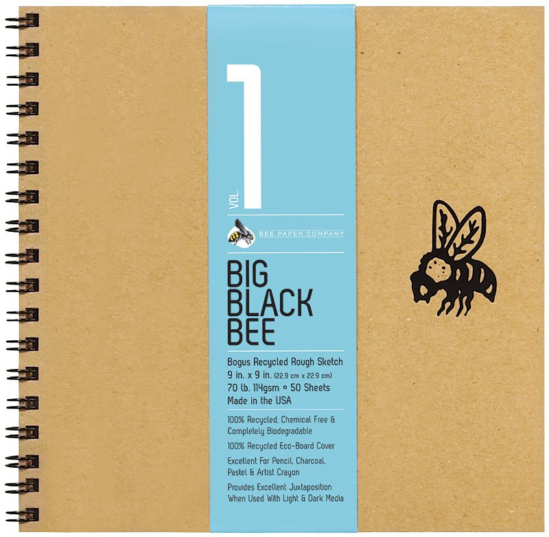 Big Black Bee Bogus Sketch Journal