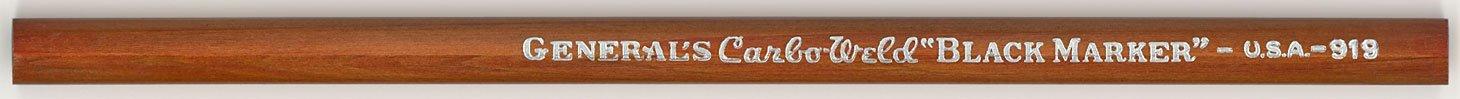 Carbo-Weld Black Marker