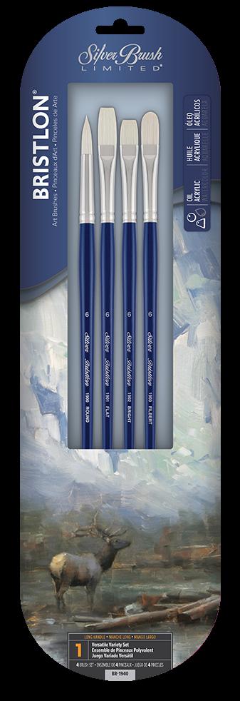 Bristlon 4pc Versatile Variety Set