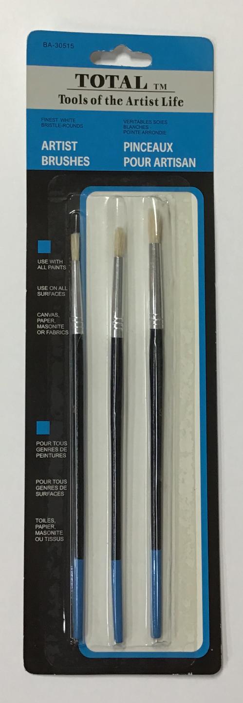 TOTAL 3pc Brush Sets