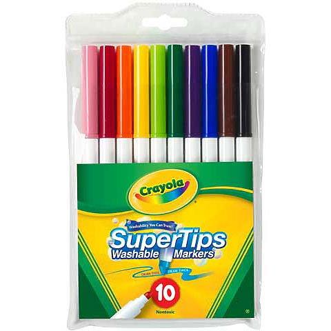 Super Tips Washable Marker Sets