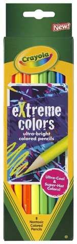 Extreme Colors Colored Pencil Set