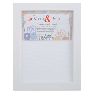 Create and Hang-Framed Canvas Board