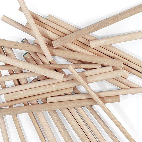 Wood Dowels, 12 x .25 - 12/Pkg.