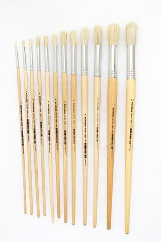 Student Bristle Brush - Round