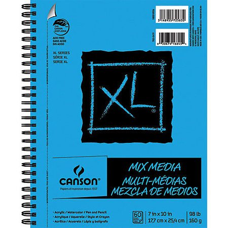 Canson XL Mixed Media Spiral Pads