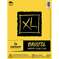 Canson XL Bristol Pads Smooth