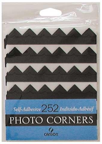 Photo Corners 252pk SILVER