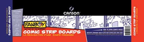 Canson Comic Strips Boards