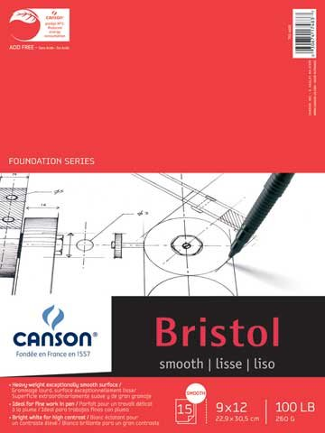 Foundation Series Bristol Pads Smooth