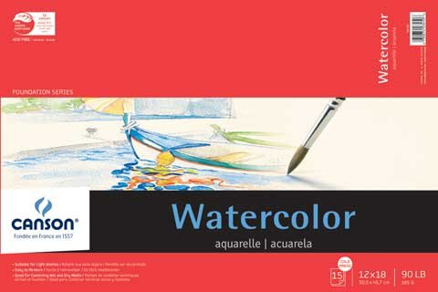 Canson Foundation Series Watercolor Pads