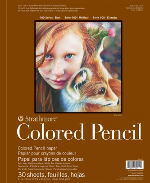 Colored Pencil Pads 400 Series 100lb