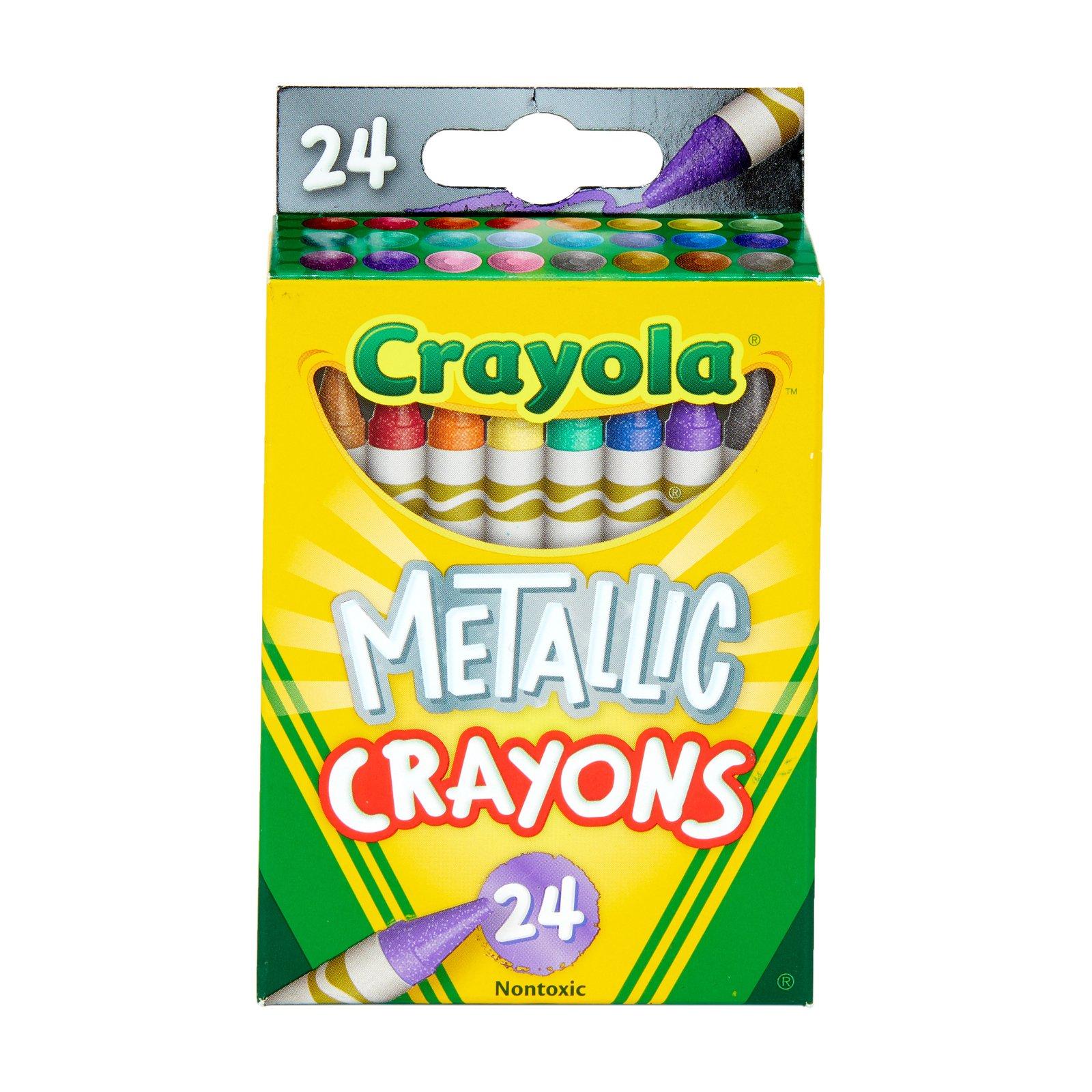 Crayola Metallic Crayons