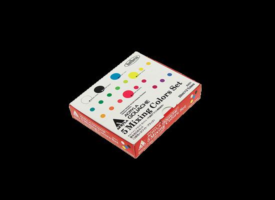 Acrylic Gouache Primary Mixing Set