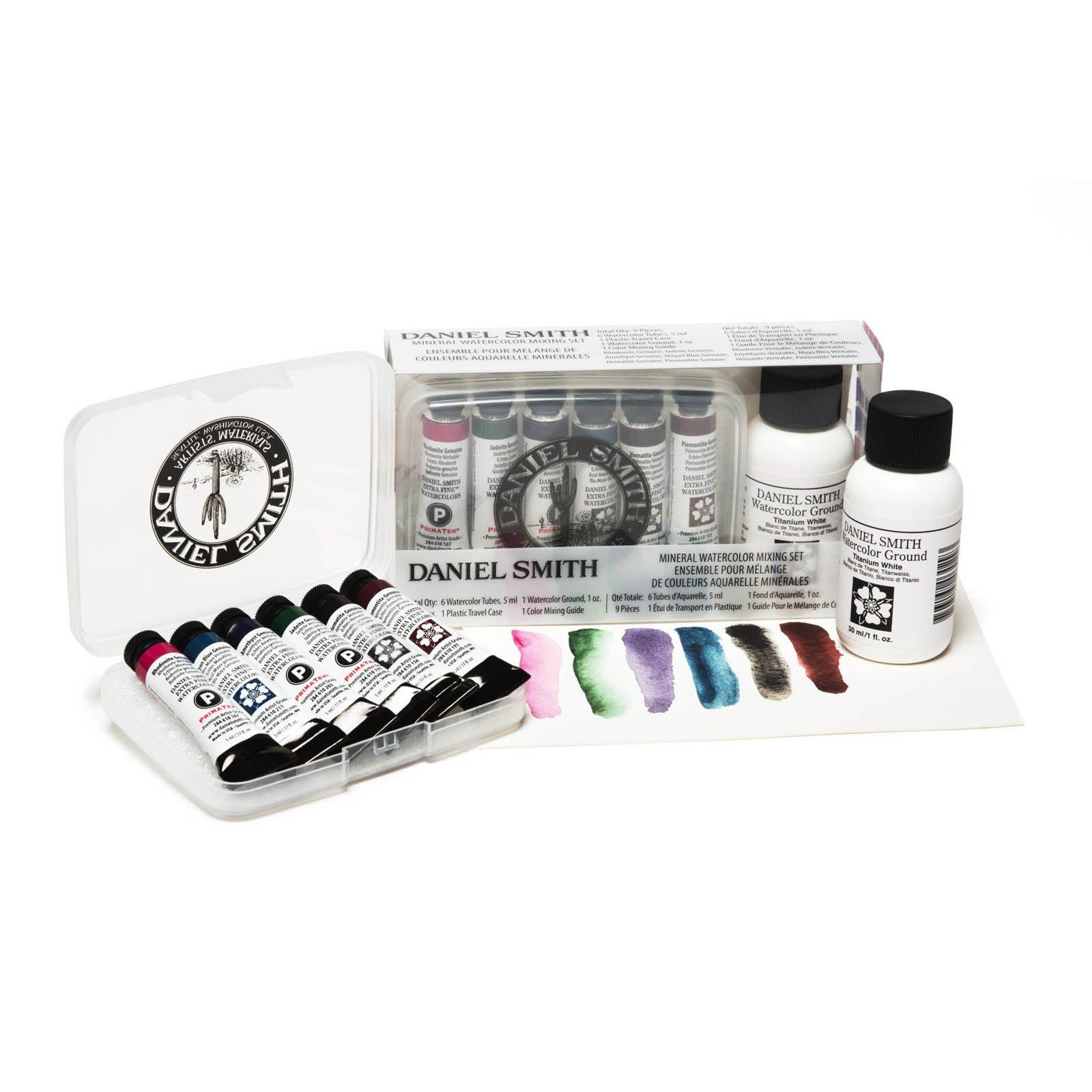 Daniel Smith Extra Fine Watercolor 6 Color 5ml Mineral Mixing Set