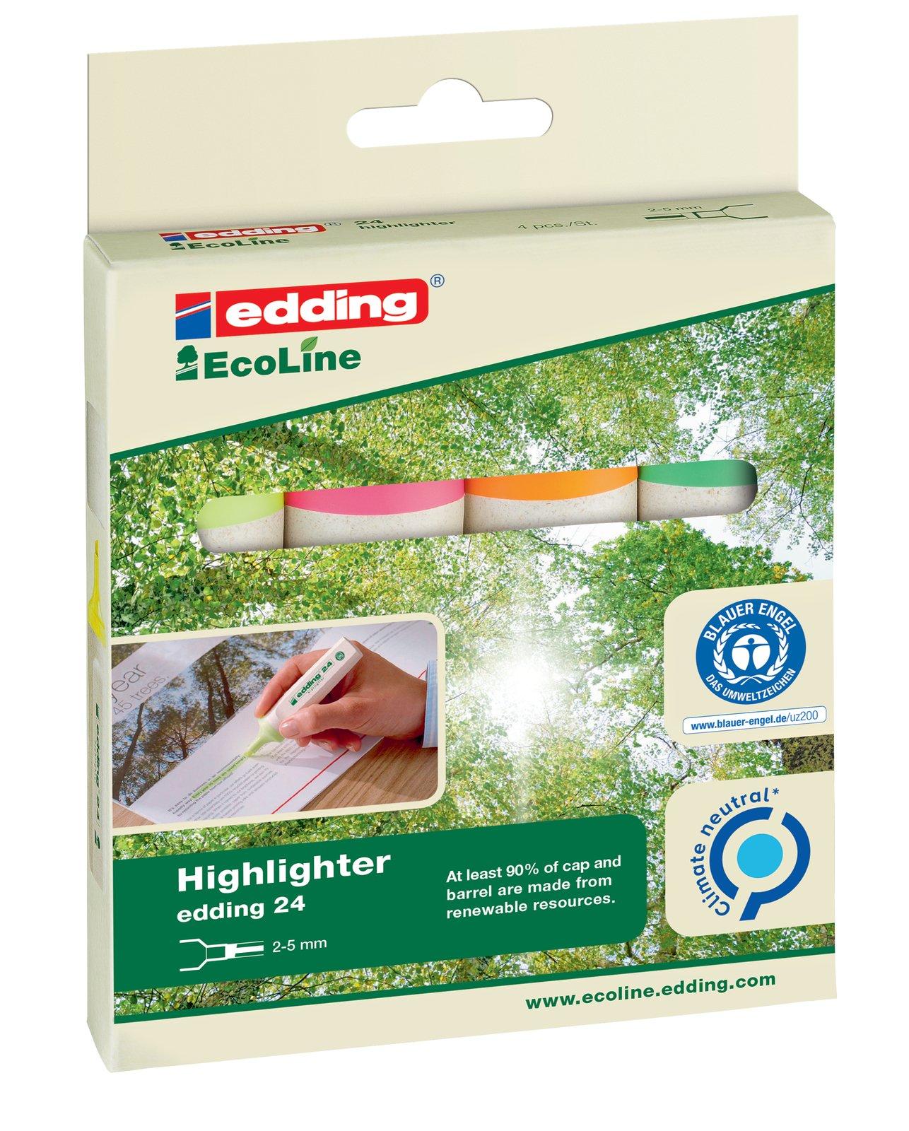 24 Ecoline Highlighter Set
