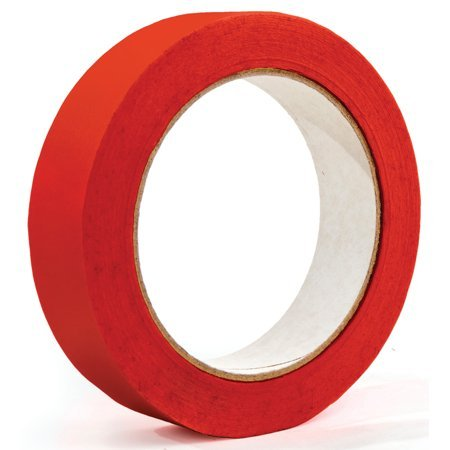 Colored Masking Tape, 1in x 60 yds, 3in Core