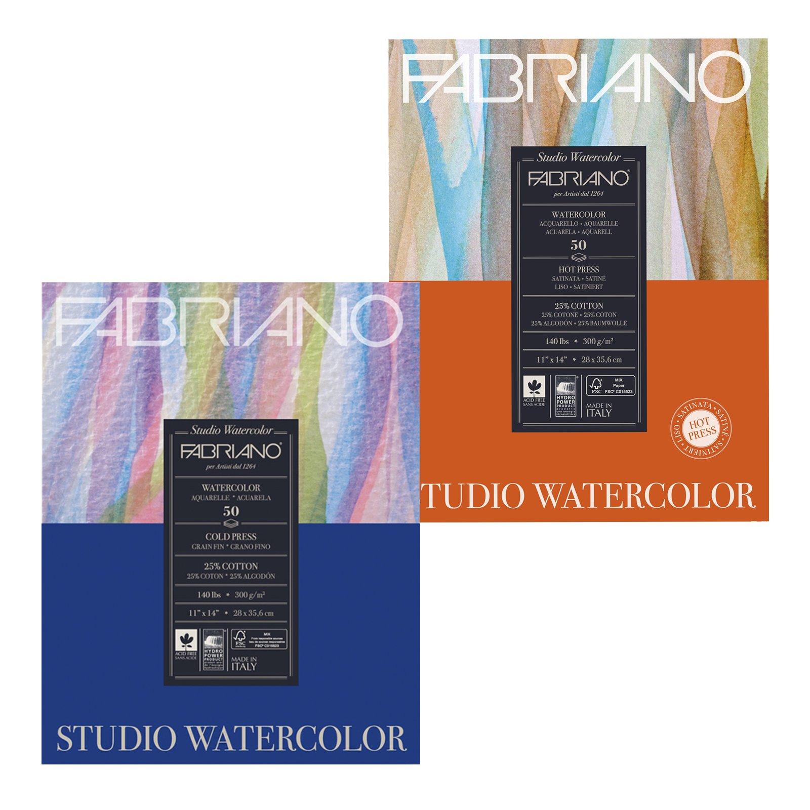 Fabriano Studio Watercolor Pads
