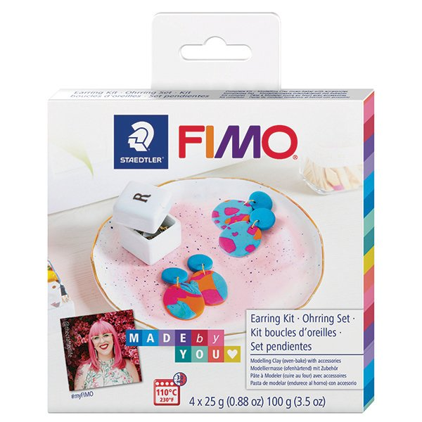 Fimo Made By You Earrings Kit