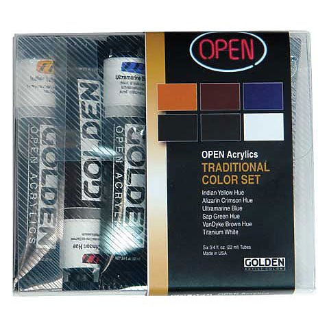 OPEN Acrylic Traditional Color Set