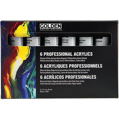 Golden Principal Professional Heavy-Body Acrylic Set
